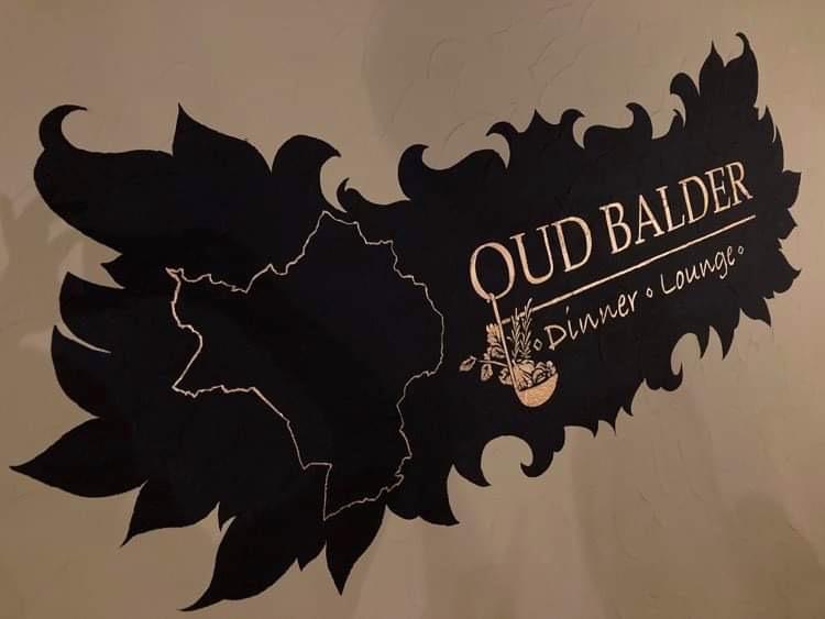 Oud Balder muurschildering